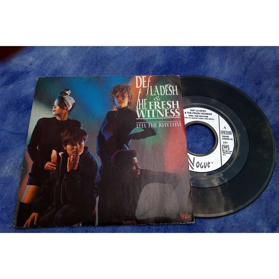 Def La Desh & The Fresh Witness Feel The Rhythm / ip hop verion