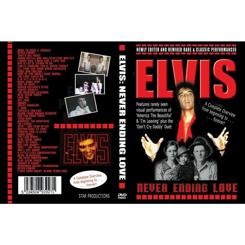 elvis presley 1 dvd never ending love 47 fabulous videoclips