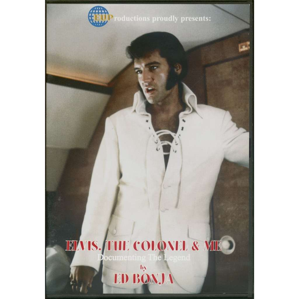 elvis presley 1 dvd elvis the colonel and me dvd from ed bonja