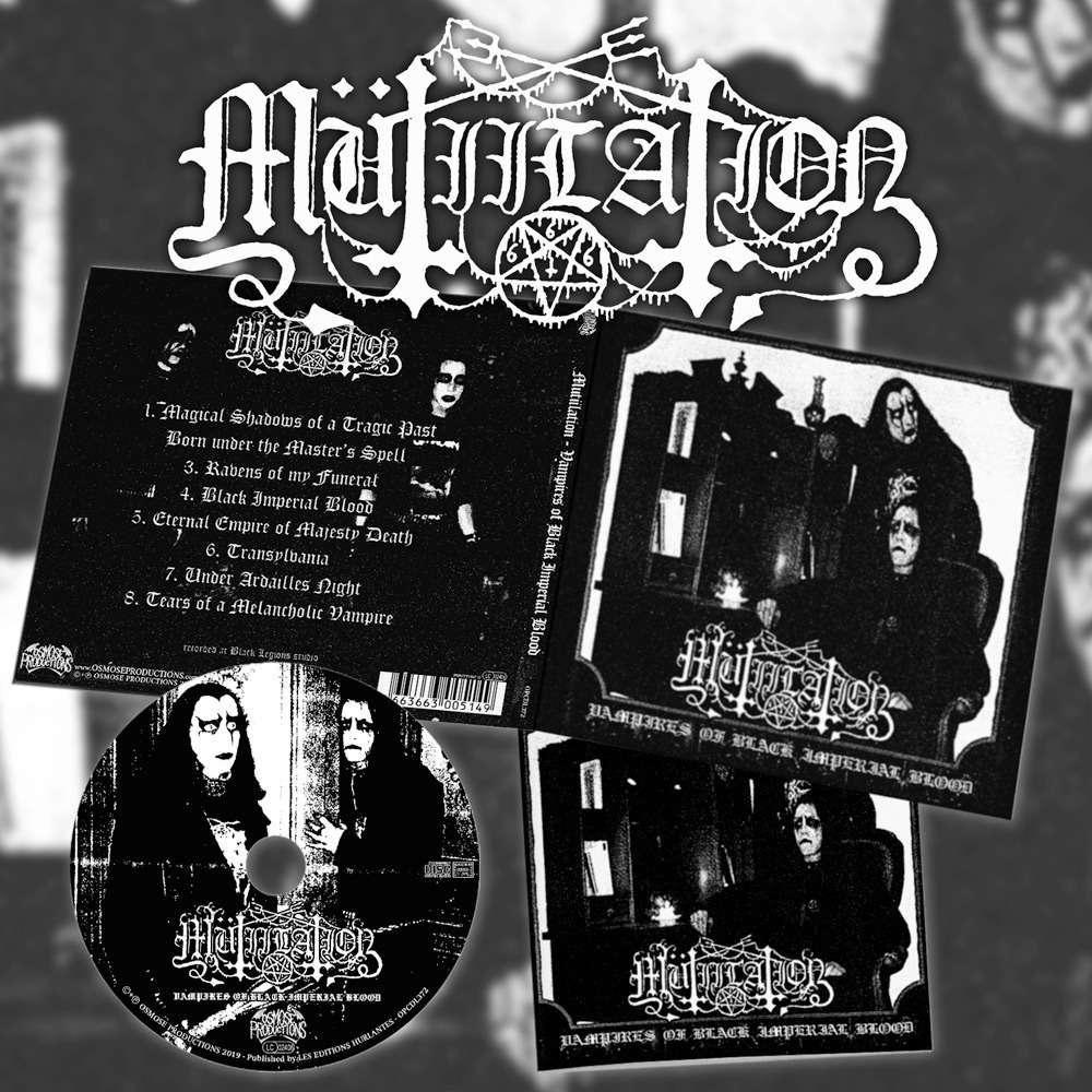 MUTIILATION Vampires of Black Imperial Blood. CD Digipack