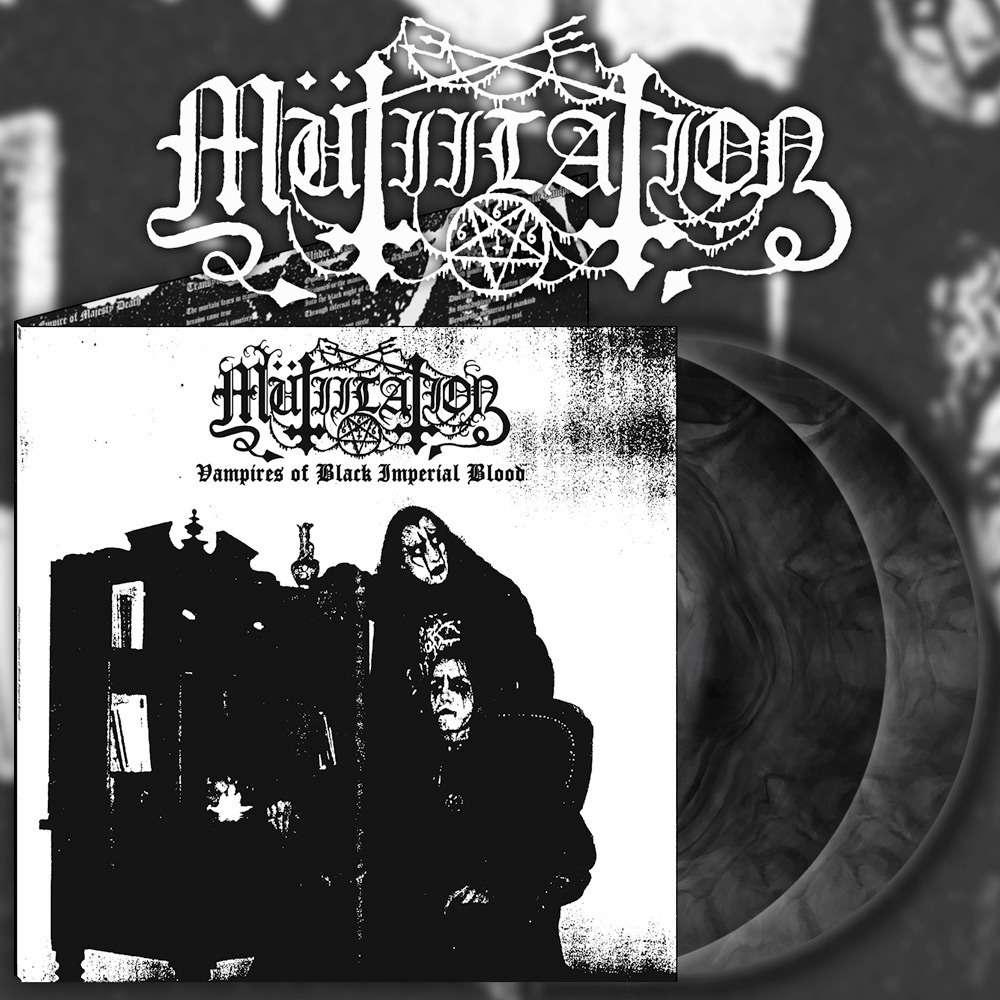 MUTIILATION Vampires of Black Imperial Blood. Black Galaxy Vinyl