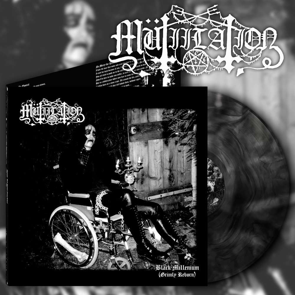 MUTIILATION Black Millenium (Grimly Reborn). Black Galaxy Vinyl