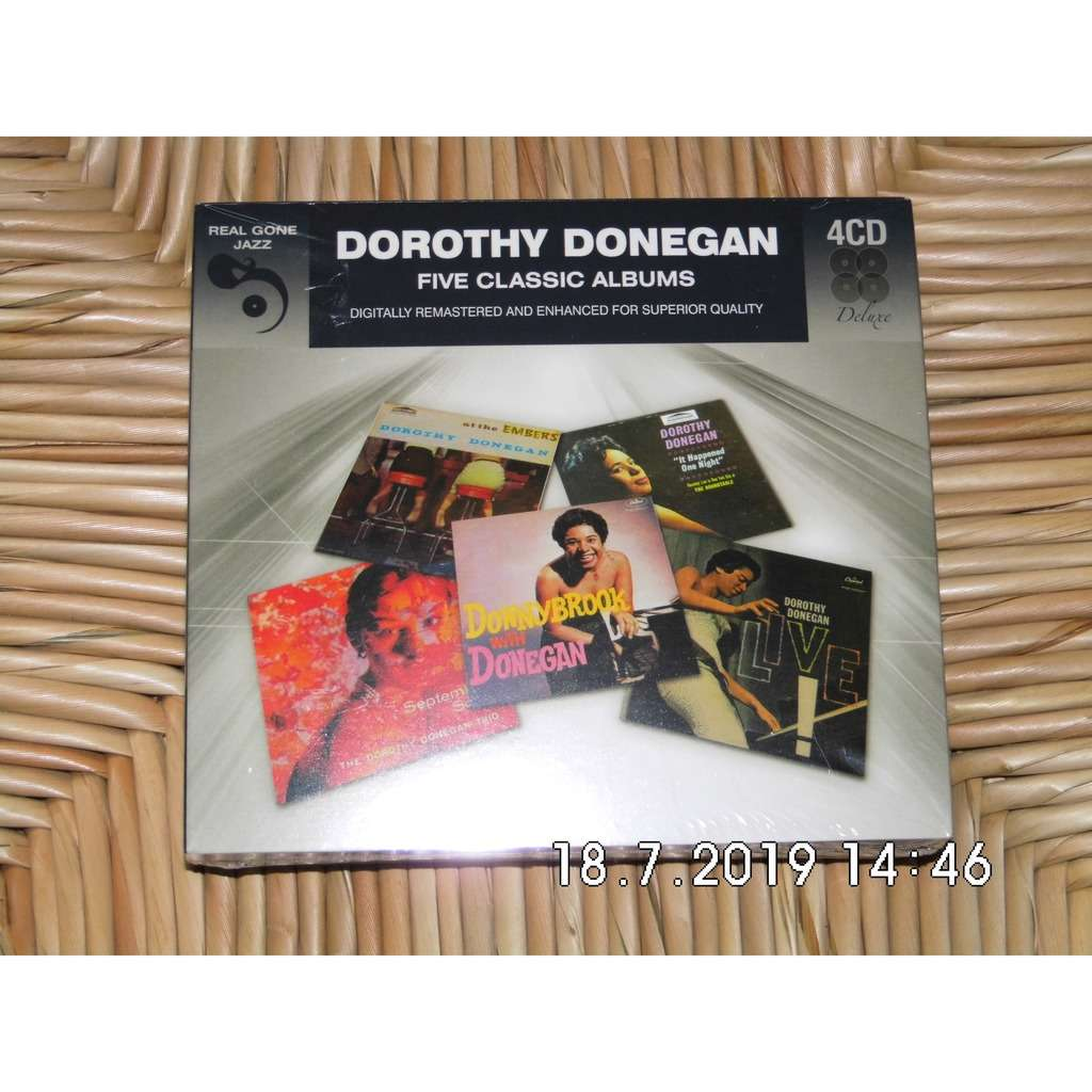 dorothy donegan fice classic albums