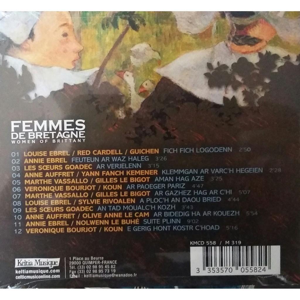 Louise Ebrel / Soeurs Goadec / Anne Auffret,... Femmes de Bretagne / Women of Brittany