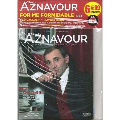 Charles Aznavour for me formidable(1963) - la collection officielle no 2 ( cd collector edition illustrée)