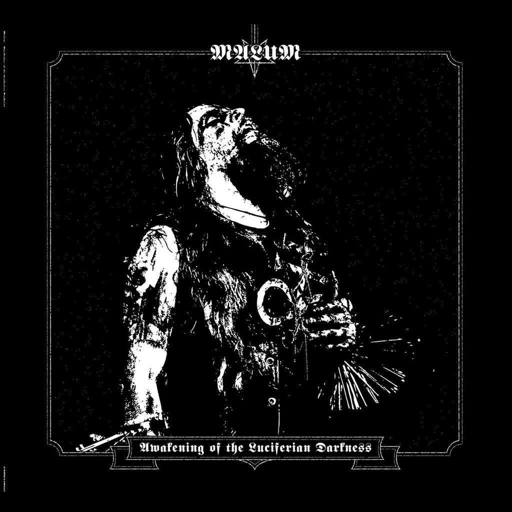MALUM Awakening of the Luciferian Darkness. Black Vinyl
