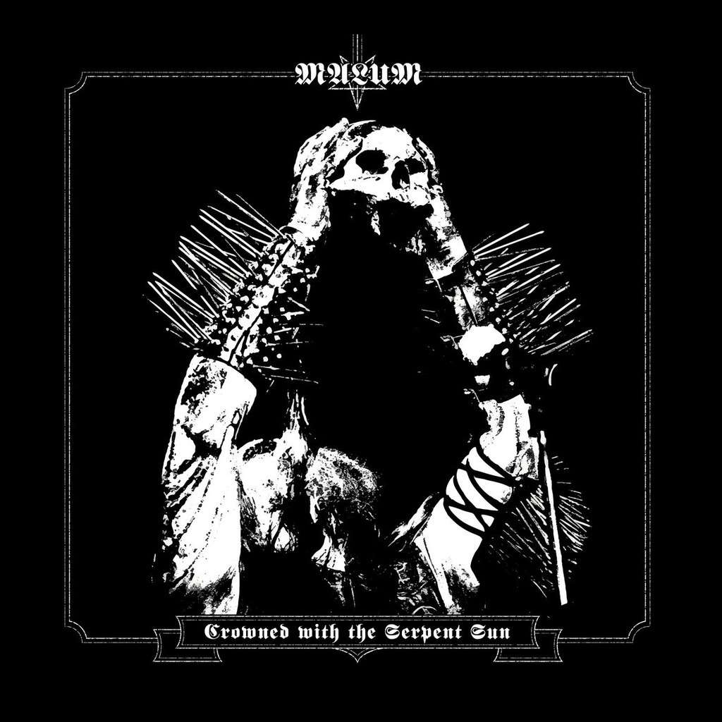 MALUM Crowned With the Serpent King. Black Vinyl
