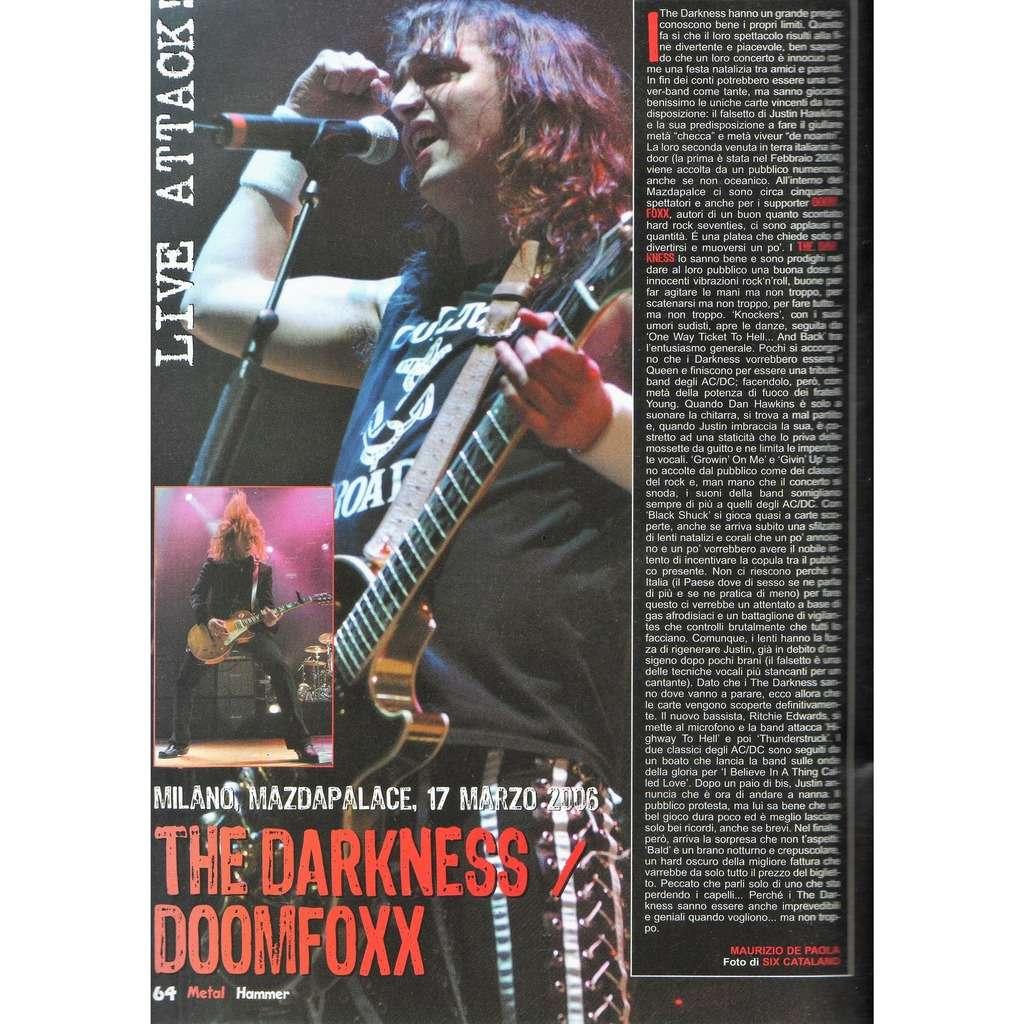 Darkness Metal Hammer (N.4 April 2006) (Italian 2006 music magazine!!)