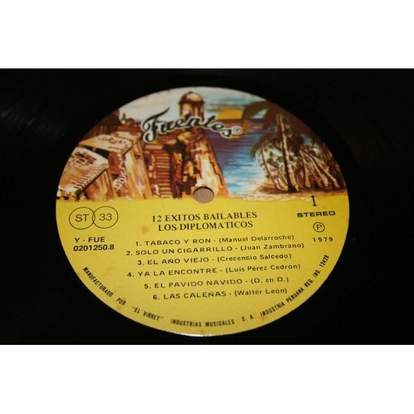 Los Diplomáticos - 12 Exitos Bailables (LP, Album) Los Diplomáticos - 12 Exitos Bailables (LP, Album)