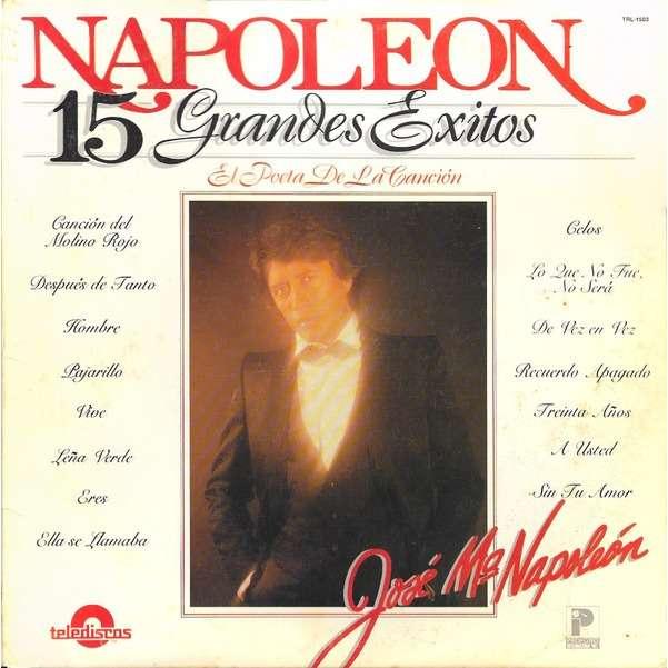 Napoleon* - 15 Grandes Exitos (LP, Comp) Napoleon* - 15 Grandes Exitos (LP, Comp)