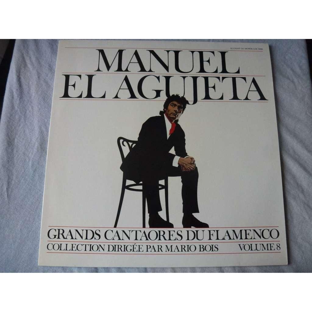 Manuel El Agujeta Grandes Figures Du Flamenco - Volume 8 - ( near mint condition )