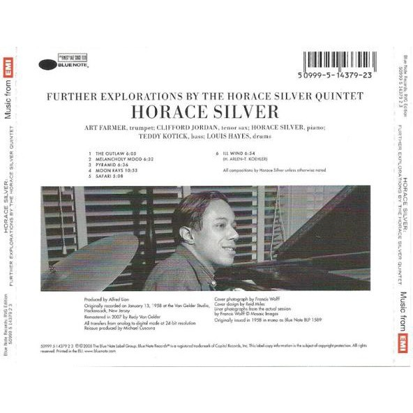 the horace silver quintet Further Explorations