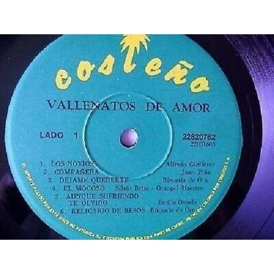 - Vallenatos De Amor (LP, Comp) - Vallenatos De Amor (LP, Comp)