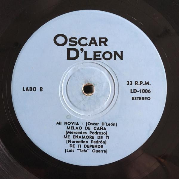 Oscar D'León* - Con Dulzura (LP) Oscar D'León* - Con Dulzura (LP)