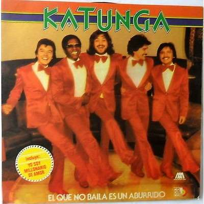 Katunga - El Que No Baile Es Un Aburrido (LP) KATUNGA-EL QUE NO BAILA ES UN ABURRIDO MICROFON/CODISCOS/1978 NM