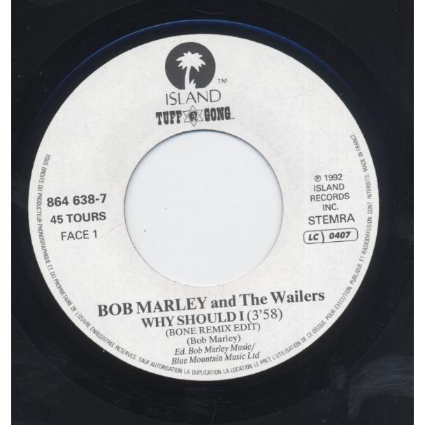 Bob Marley And The Wailers Why Should I (Bone Remix Edit) / Exodus (Kindread Spirit Mix)