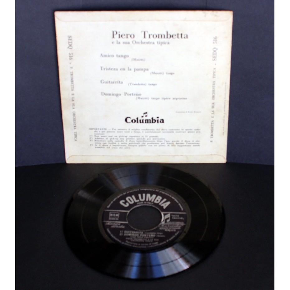 Piero Trombetta E La Sua Orchestra Tipica Amico Tango