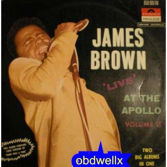 BROWN James Live at the Apollo _ Vol.II _double album