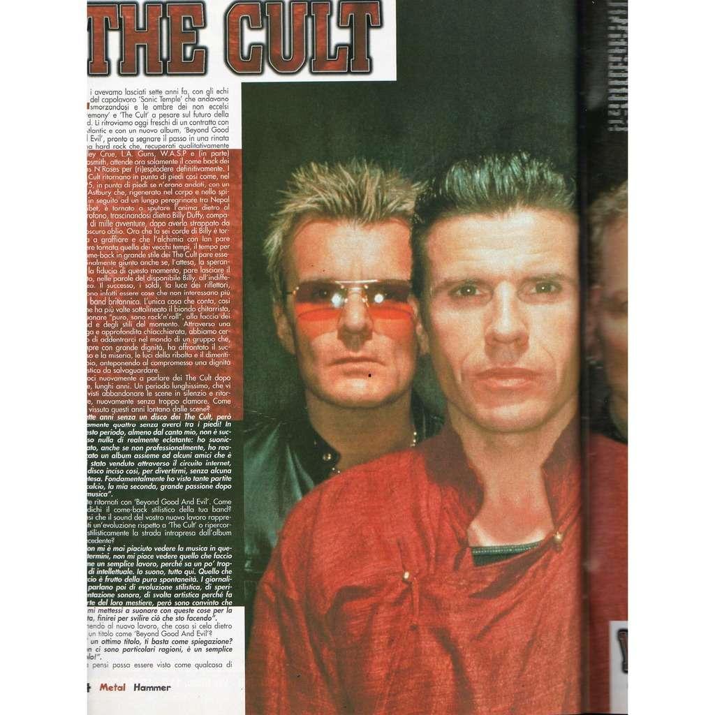The Cult Metal Hammer (N.6 June 2001) (Italian 2001 music magazine!!)