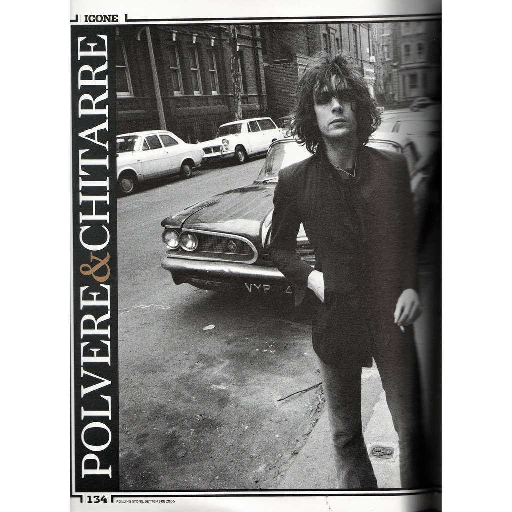 Pink Floyd / Syd Barrett Rolling Stone (N.35 Sept. 2006) (Italian 2006 music magazine!)