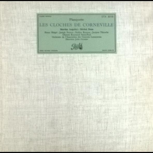 Orchestre de l'association des concerts Lamoureux PLANQUETTE / les cloches de corneville