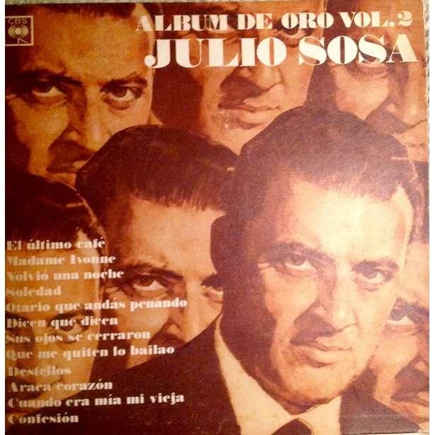 Julio Sosa - Album de Oro Vol.2 (LP, Album) Julio Sosa - Album de Oro Vol.2 (LP, Album)