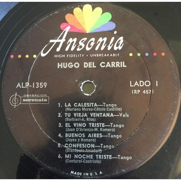 Hugo Del Carril - Hugo Del Carril Hugo Del Carril - Hugo Del Carril