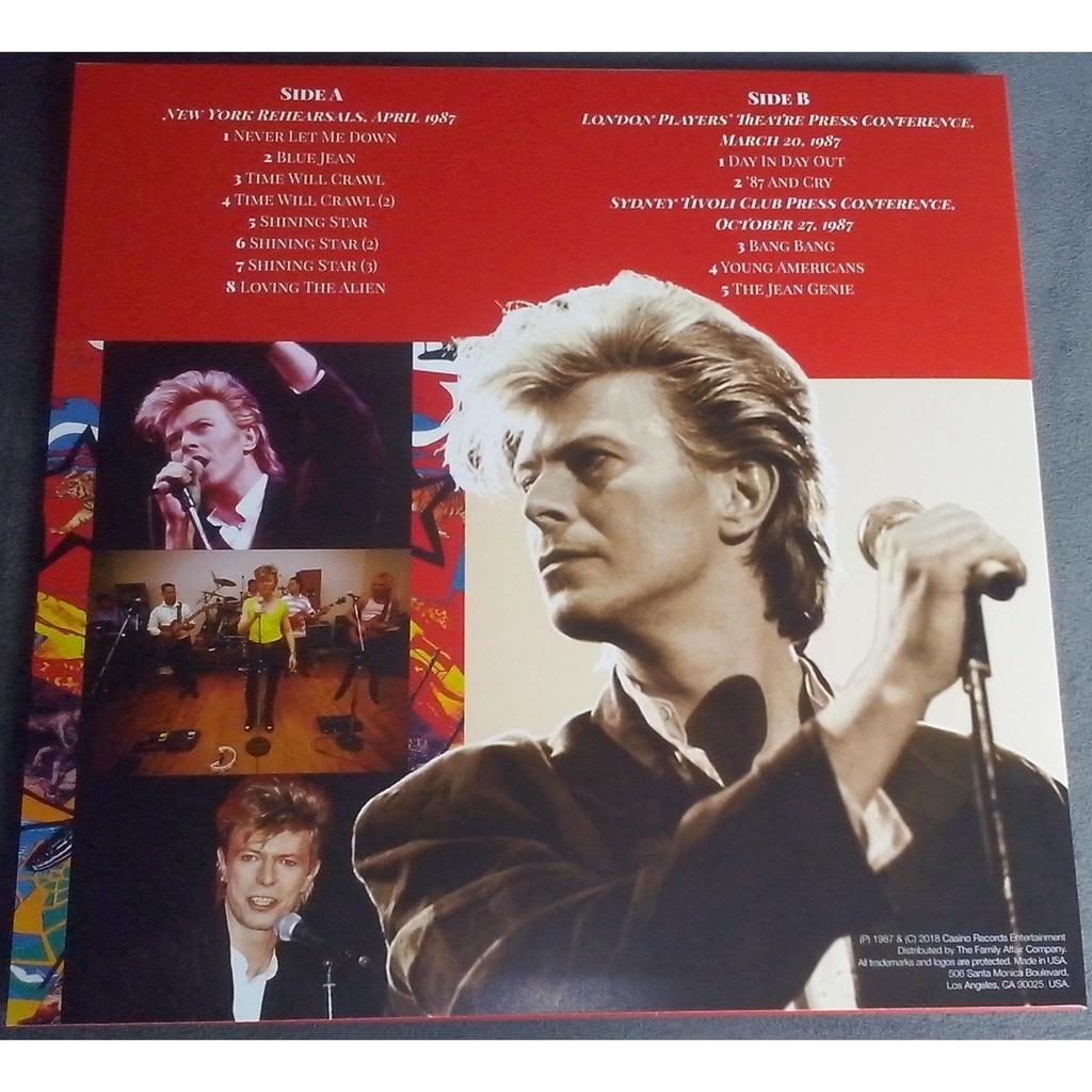 David Bowie Birth Of The Spider (lp) Ltd Edit White Bone Splatter Vinyl & 500 Copies -USA