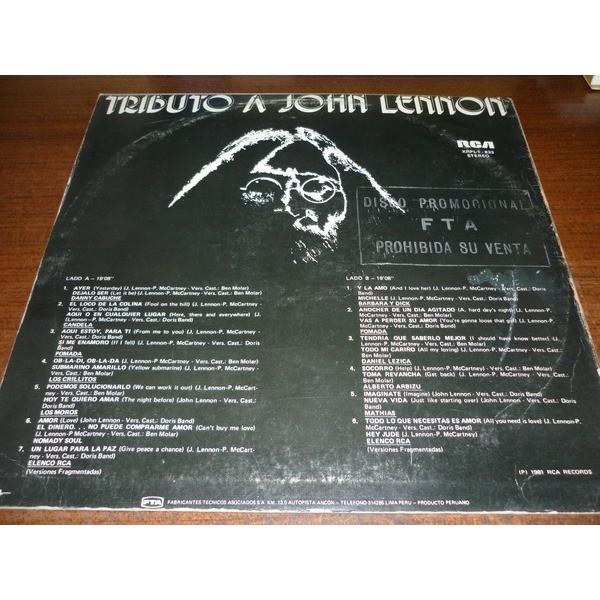 Tributo a John Lennon Tributo a John Lennon