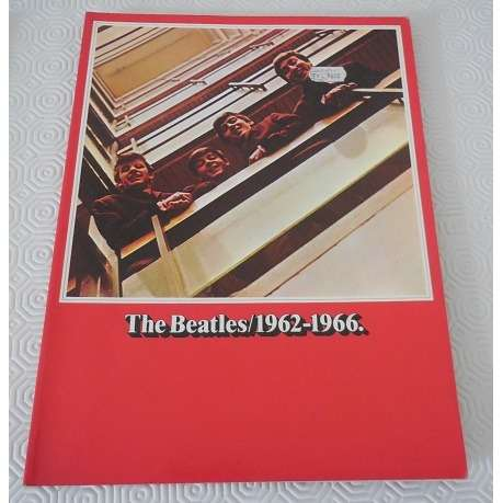 the beatles The Beatles Power Red Songbook Guitar Voices 1962-1966 Noten Chords Lyric