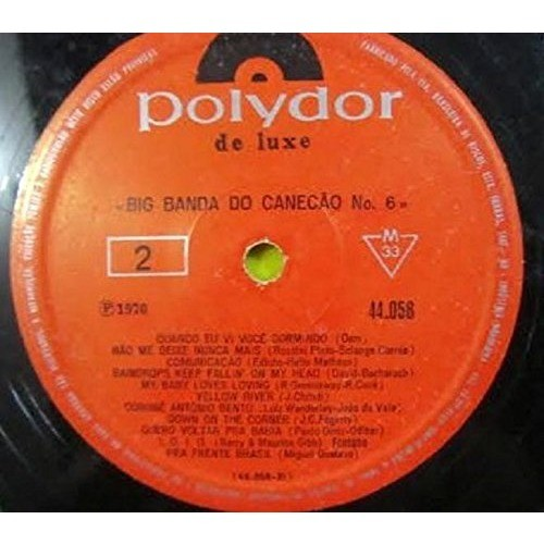 BIG BAND DO CANECAO VOL.6 POLYDOR 1970-RARE LP/VI BIG BAND DO CANECAO VOL.6 POLYDOR 1970-RARE LP/VINYL