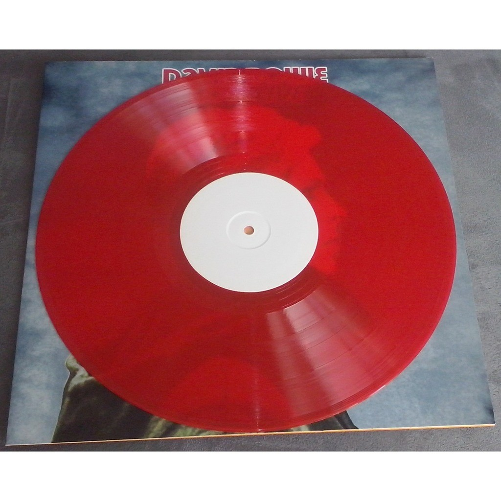 David Bowie Low Live (lp) Ltd Edit Red Vinyl -Spain
