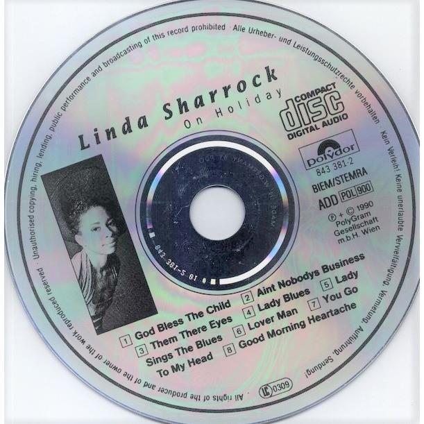 Linda Sharrock On Holiday