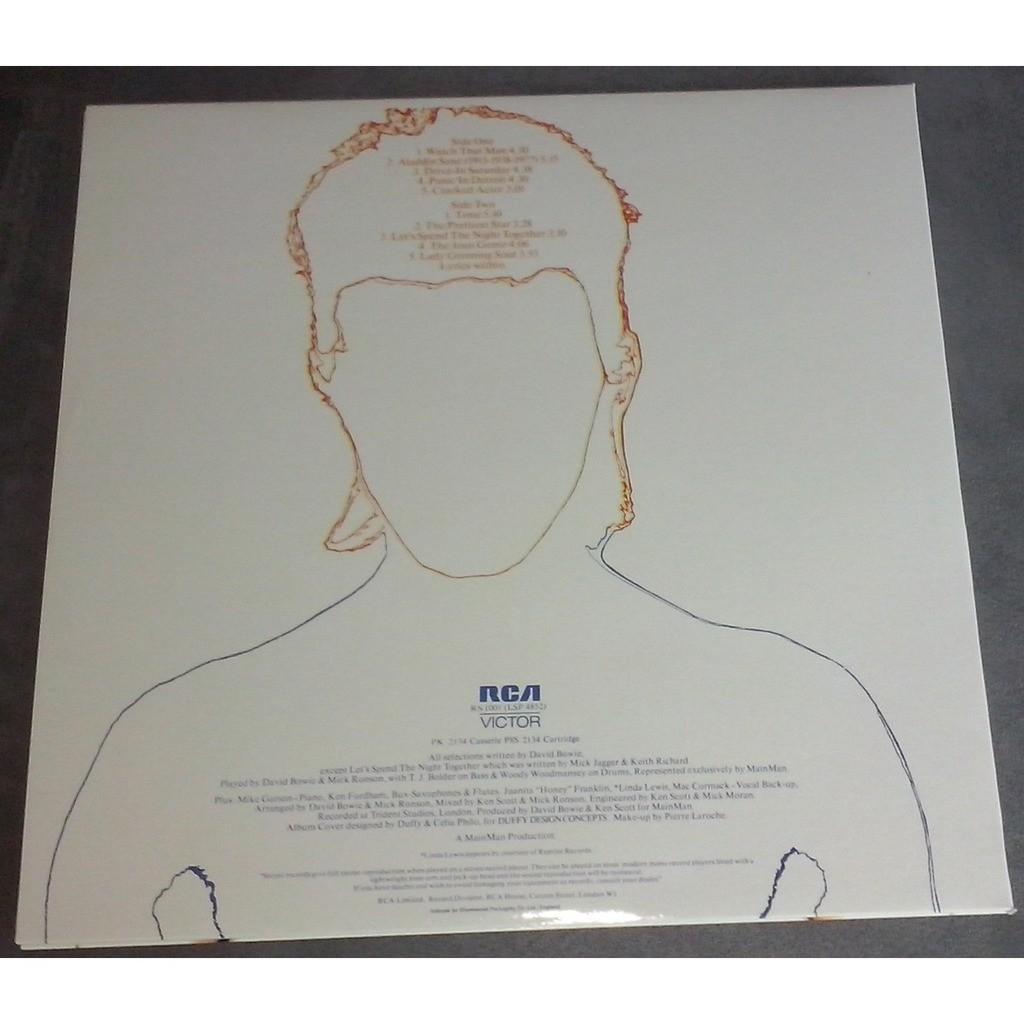 David Bowie Aladdin Sane (lp) Ltd Edit Gatefold Sleeve -U.K