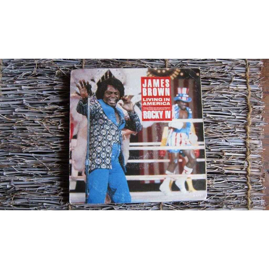 JAMES BROWN / VINCE DICOLA bo rocky 4 : living in america / farewell