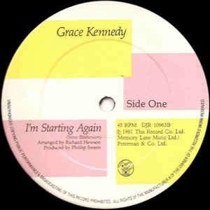 Grace Kennedy I'm Starting Again