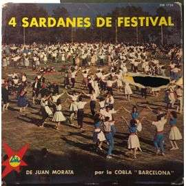 juan morata 4 sardanes de festival : porta d'africa, una filigrane, a madeloch, amor etern