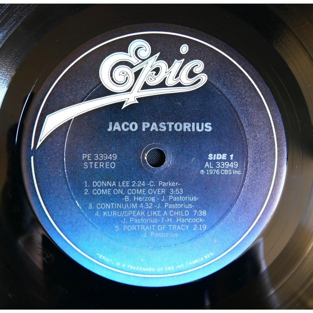 Jaco Pastorius Jaco Pastorius