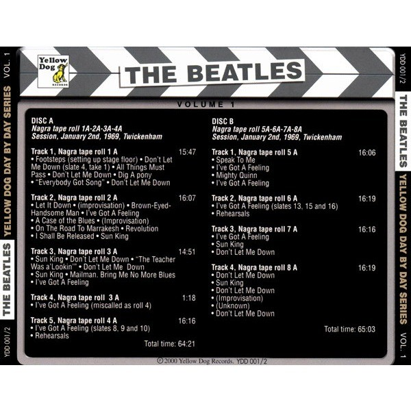 The Beatles Day By Day Vol. 1