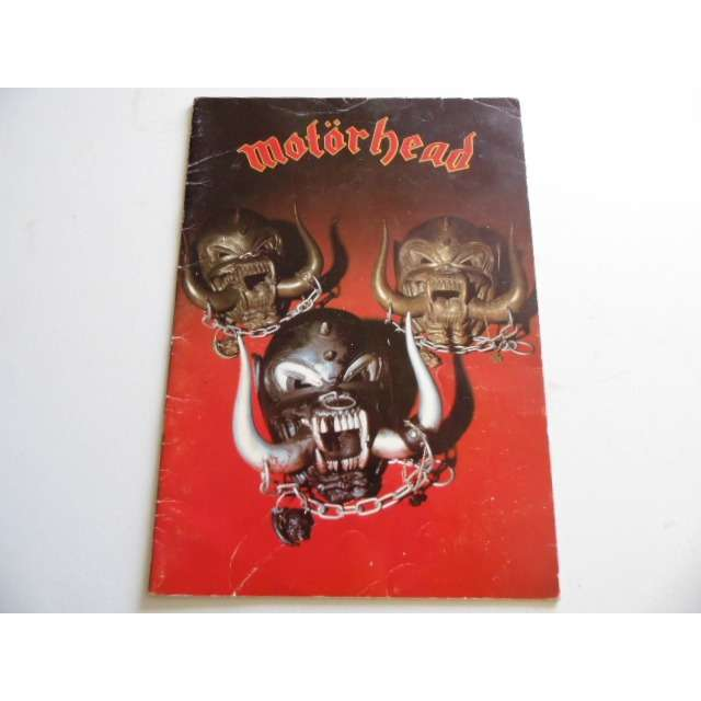 Motorhead tour programme