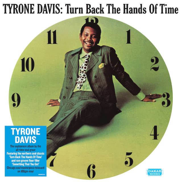 Tyrone Davis Turn Back The Hands Of Time (Vinyl)