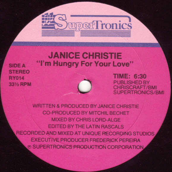 Janice Christie I'm Hungry For Your Love