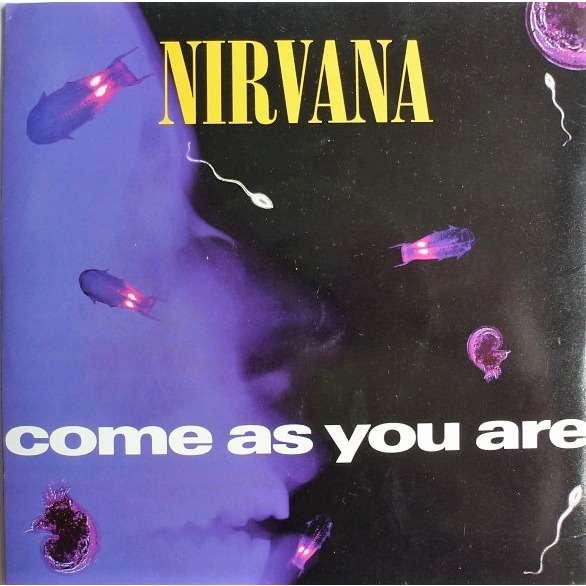 Nirvana Come As You Are (UK 1991 original Ltd 2-trk 7single full ps)
