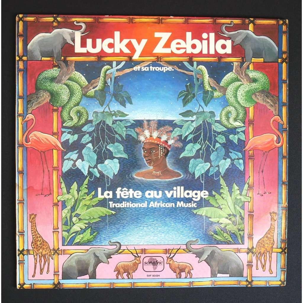 Lucky Zebila Et Sa Troupe La Fête Au Village - Traditional African Music