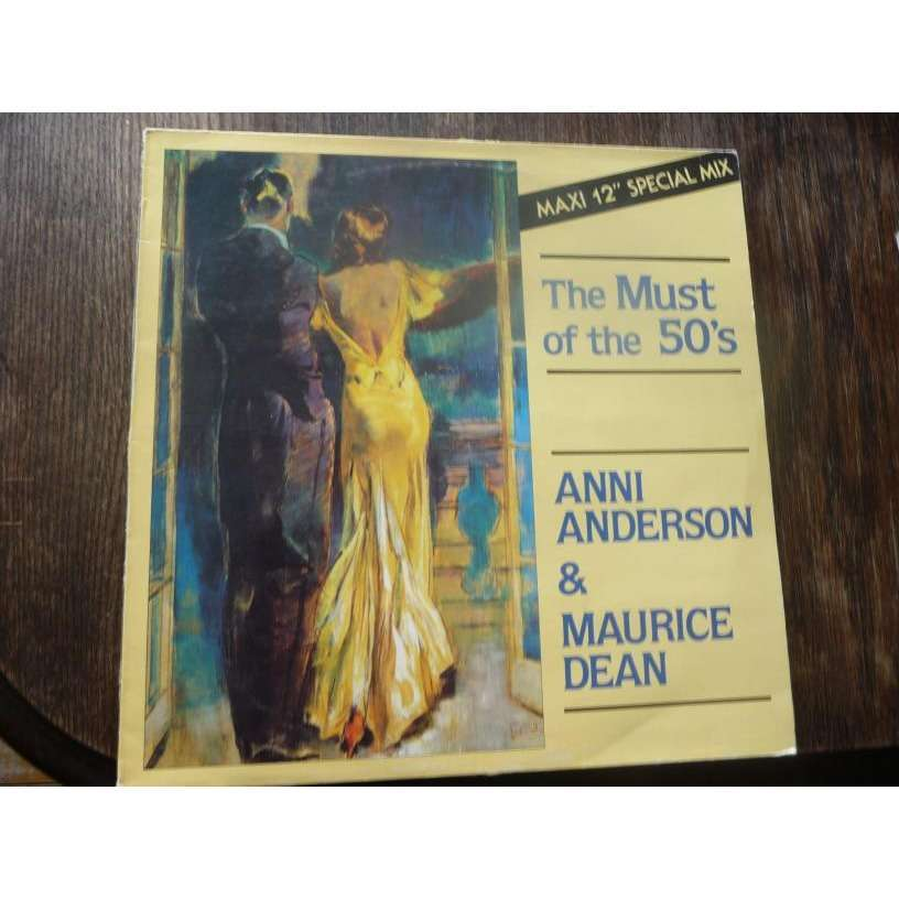 anni anderson & maurice dean the must of the 50's