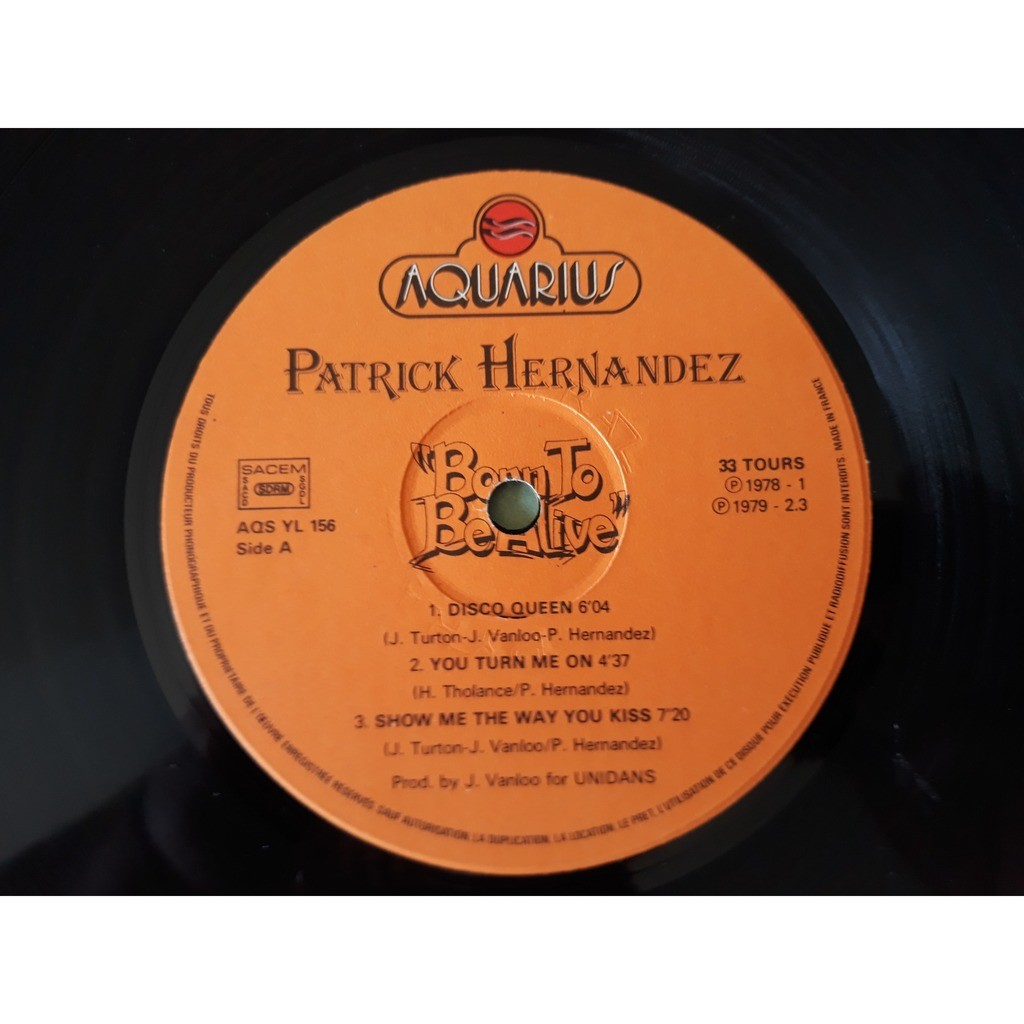 Patrick Hernandez - Born To Be Alive Patrick Hernandez - Born To Be Alive