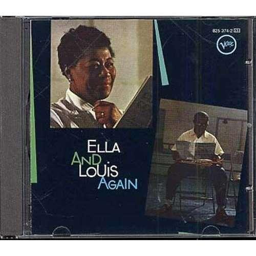 ELLA FITZGERALD & LOUIS ARMSTRONG ELLA & LOUIS AGAIN (1957)