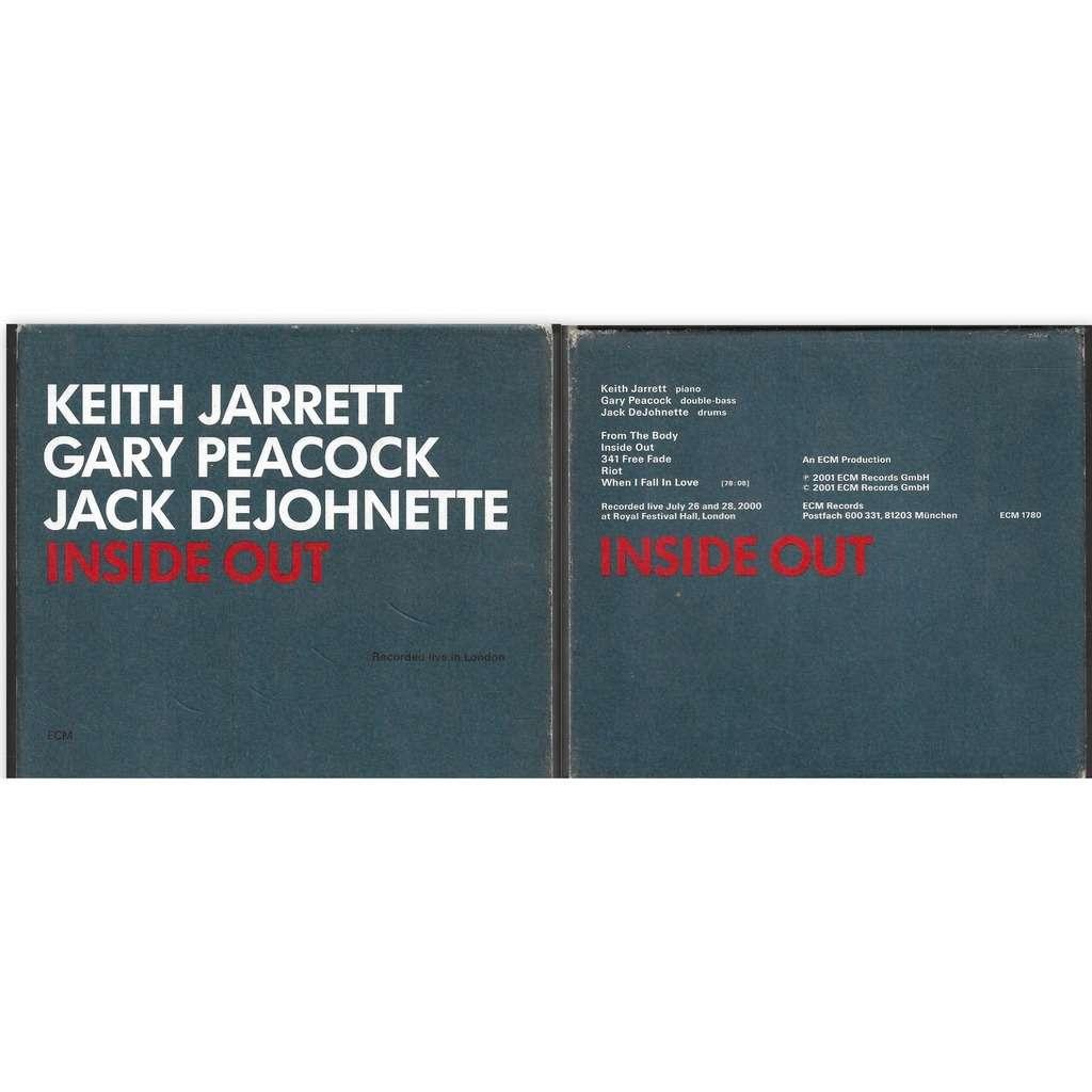 keith jarrett gary peacock jack dejohnette INSIDE OUT