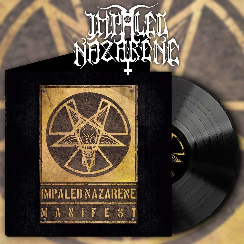 IMPALED NAZARENE Manifest. Black Vinyl
