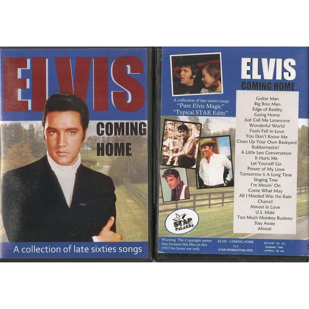 elvis presley 1 dvd coming home 25 unreleased videoclips